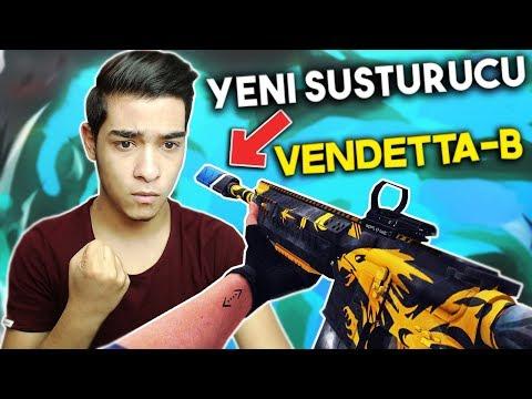TR'DE İLK M468 VENDETTA-B İLE OYNADIM EFSANE BİRŞEY BEE !! ZULA