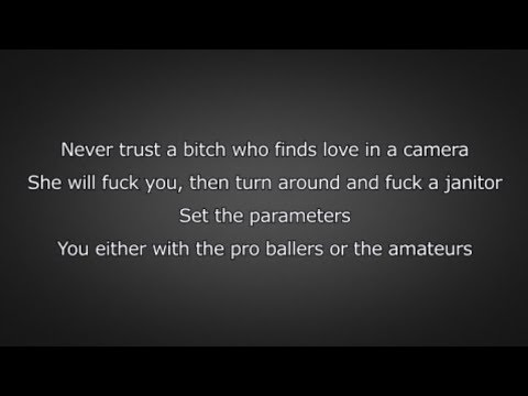 Pusha T - Hard Piano (Lyrics)