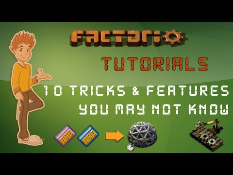 10 Tricks Features You May Not Know About Factorio Tutorial