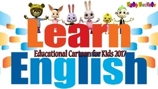 Educational Cartoons for Kids 2017: Learn English with Cute Baby animals: Nonstop