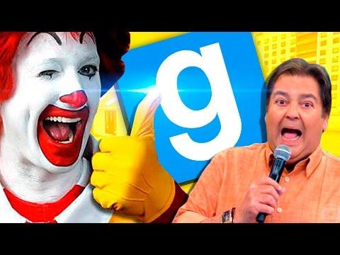 GMOD - McDonald's  M A N E R Ã O  e avaliando TRETAS!