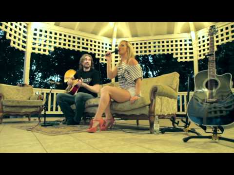 Kings Of Leon Sex On Fire acoustic cover by Tijana & Branko LIVE