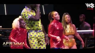 RAYVANNY and Diamondptatnumz- Live Performance at Afrimma Awards Dallas Texas U.S.A