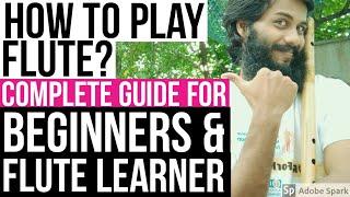HOW TO PLAY FLUTE | COMPLETE GUIDE FOR BEGINNERS