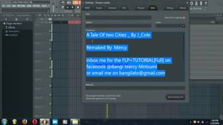 J Cole & K dot Studio Session Of A Tale Of Two Citiez Remaked Tutorial The Making Of It
