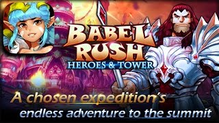 Babel Rush: Heroes & Tower - iOS Android Gameplay Trailer HD