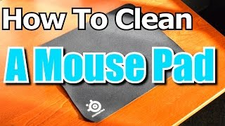Cleaning My Seven 7 Year Old Mouse Pad