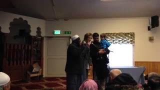 Swedish converts to islam.
