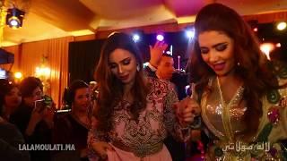لا تفوتوا مشاهدة رقصة هدى سعد وصفاء حبيركو في عقيقة غزل ابنة دنيا بطمة - لالة مولاتي