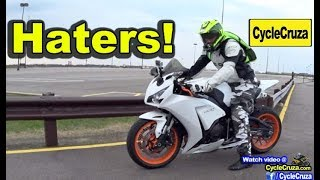 Motorcycle HATERS (Uncensored) | MotoVlog