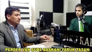 PERDER Van Şube Başkanı Tasan '2016 yılı için Vanlılara söz veriyoruz'
