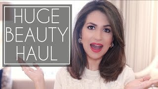 HUGE BEAUTY HAUL | Boots, Space NK, House of Fraser, By Terry | JASMINA BHARWANI