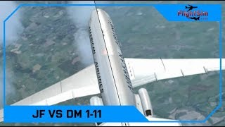 Just Flight BAC One-Eleven vs DMFlightSim BAC One-Eleven