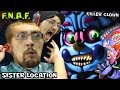 Download Lagu KILLER CLOWN JUMP SCARE in FIVE NIGHTS AT FREDDY'S 5 SISTER LOCATION (FGTEEV SCARY BABY Gameplay)