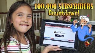 JillianTubeHD 100,000 SUBSCRIBERS Countdown!