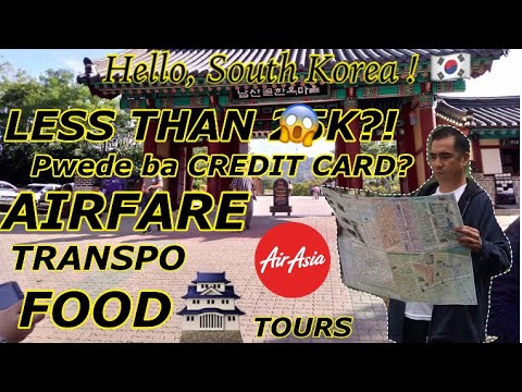 6 DAYS IN SOUTH KOREA SUPER DETAILED SOUTH KOREA TRIP TRAVEL EXPENSES GUIDE FOR FILIPINOS