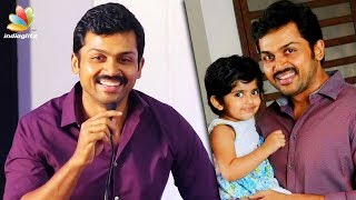 "My ""ழ"" Is Bad But Want My Daughter To Say It Right : Karthi Speech 
