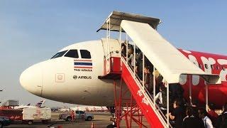 นั่งแอร์เอเชีย Airasia จากสนามบินดอนเมือง บินไปเที่ยวเชียงราย