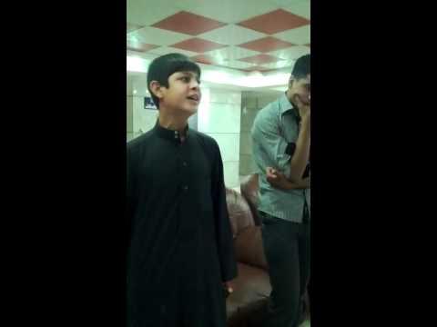 نعي حسيني صوت جميل وحزين جدا 2012