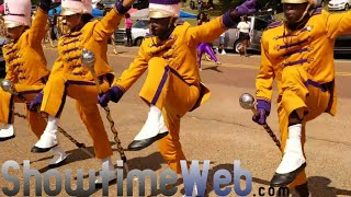 Alcorn State Marching In 2018 vs Alabama State