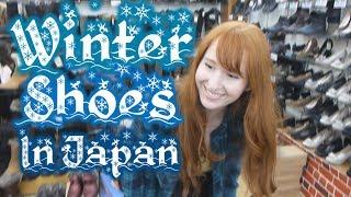 日本の靴屋(女性)Japanese Shoe Store! 【日英字幕】