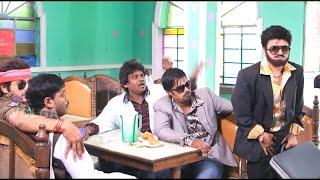 Jabardasth Team Hilarious Comedy Scene In Hotel..