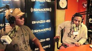 Kenrick Lamar vs Logic vs Joey Badass FREESTYLE CYPHER 2017
