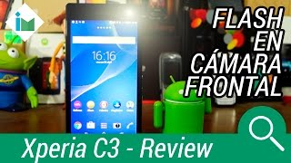 Sony Xperia C3 - Review en español