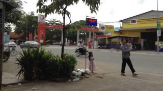 Cambodia Gas Station - Khmer Gas