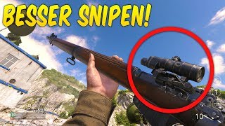 Damit kannst du BESSER SNIPEN! (Call of Duty: WWII)