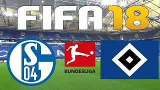 FIFA 18 - 2017-18 BUNDESLIGA - SCHALKE 04 vs HAMBURG