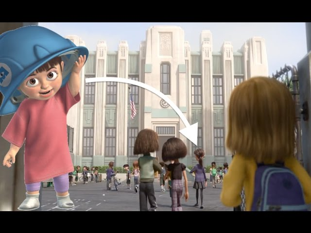 Pixar Theory: Does Boo go to Riley's SCHOOL?