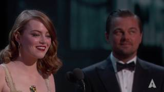 Emma Stone wins Best Actress