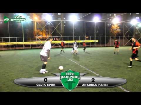 iddaa Rakipbul Denizli Ligi I Çelik Spor 0 & Anadolu Parsı 2 Maç Özeti