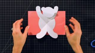 How to Make a Teddy Bear Pop-Up Card | Pop-Up Cards