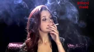 colorful smoking beauty hot girl