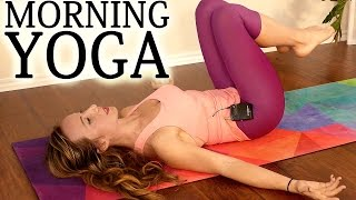 Gentle Morning Yoga for Energy & Flexibility ♥ 20 Minute Full Body Stretch Workout for Beginners