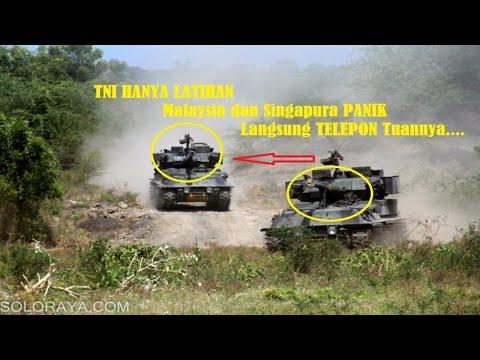 TNI Berlatih di NATUNA Malaysia dan Singapura Panik Telfon Tuannya Kopassus Marinir Paskhas