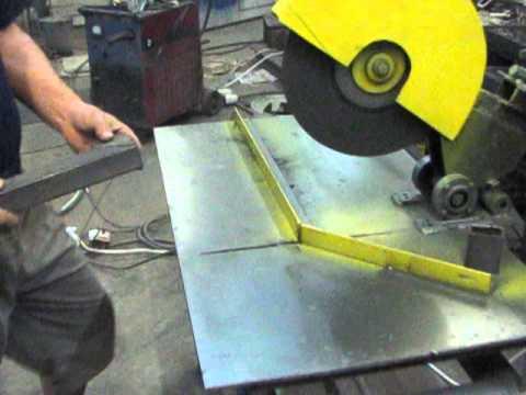 Сделать отрезную пилу по металлу своими руками
