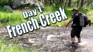 French Creek Backpacking Trip - Full Movie Day 1 of 2