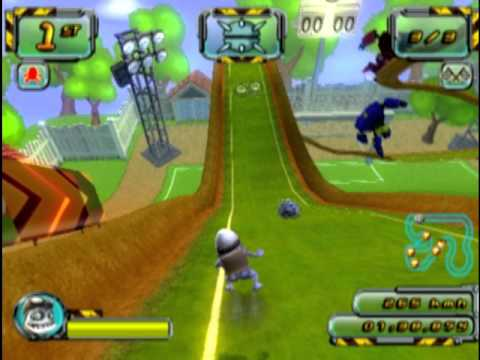 Crazy Frog Racer 2 PS2 Gameplay