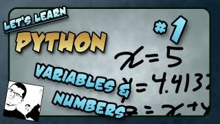 Let's Learn Python - Basics #1 of 8 - Integers, Floats and Maths