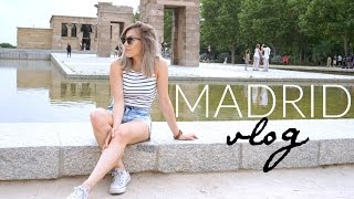 TRAVEL VLOG: 3 days in Madrid, Spain | 26 Days in Europe Trip: Ep 2