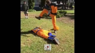 Goku vs Naruto in Real life Compilation