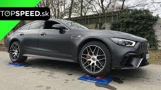 Mercedes AMG GT63s 4door 4x4 test - TOPSPEED.sk