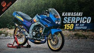 Kawasaki Serpico 150 สายหมอบทัวร์ริ่งรุ่นใหญ่ กระฉากใจวัยรุ่นขาโหด By Aof Prospeed