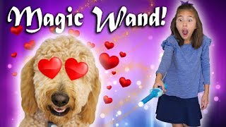 MAGIC WANDS!!! Chloe Gets the LOVE SPELL! Cepia Fairy Wand