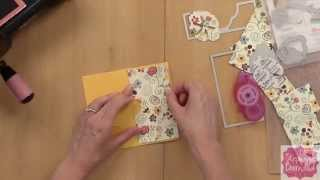 Make a Hidden Panel Card with Stephanie Barnard from The Stamps of Life