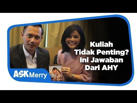 KULIAH TIDAK PENTING? INI JAWABAN DARI AHY | Ask Merry | Merry Riana