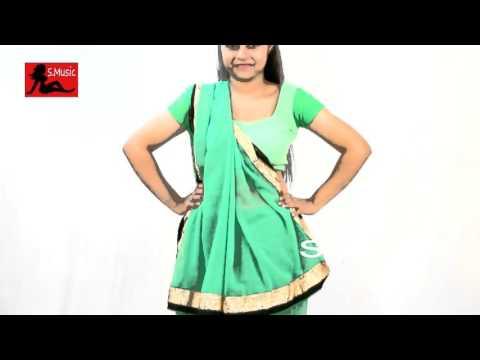 How to Wear Seedha Pallu Saree Style -Shidha Pallu Saree Green Color 1